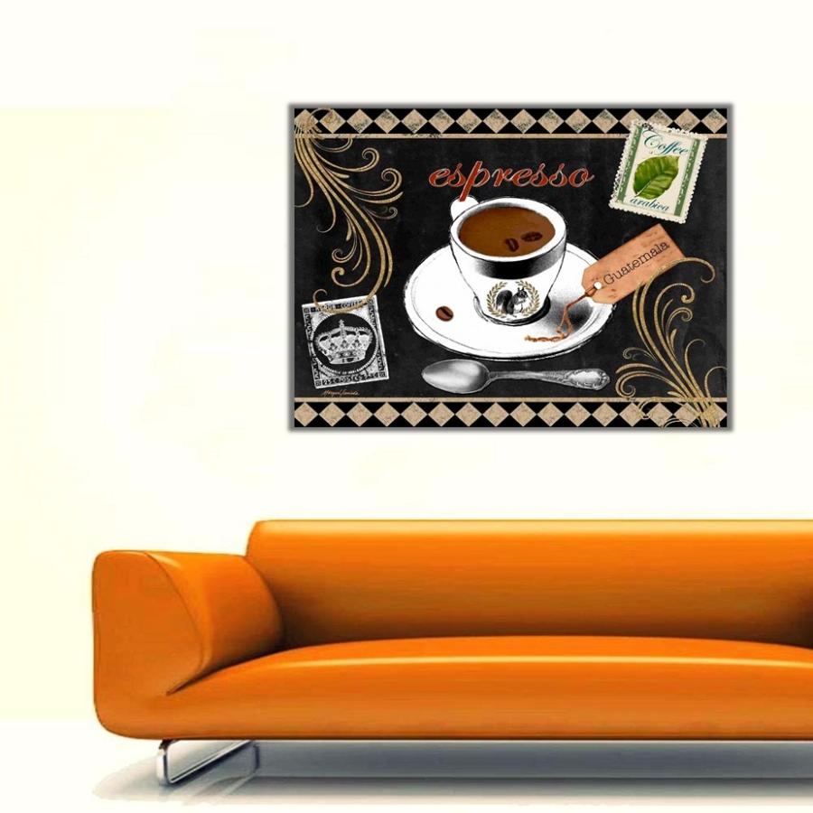 Coffee Expresso Kanvas Tablo
