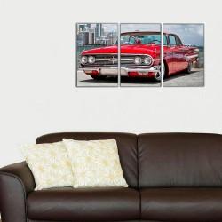 Kırmızı Araba Tablosu - Thumbnail