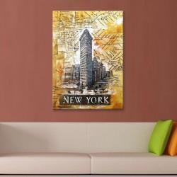 Newyork Kanvas Tablo - Thumbnail