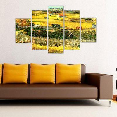 Van Gogh Buğday Tarlaları Kanvas Tablo
