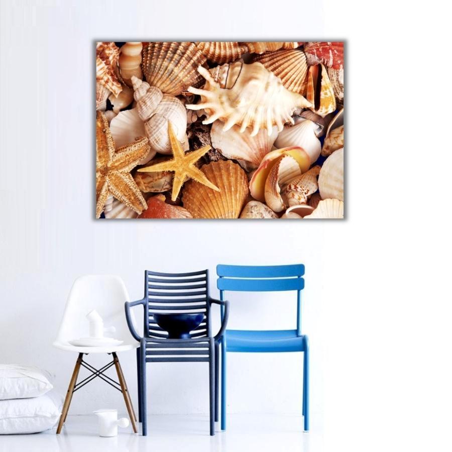 Denizalti Canlilari Kanvas Tablo Hayvanlar Dunyasi Dekoratif