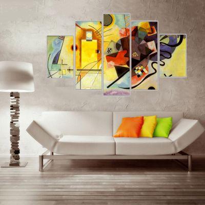 Kandinsky 4 Kanvas Tablo