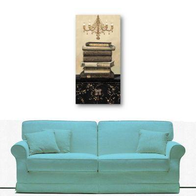 Kitaplar Kanvas Tablo