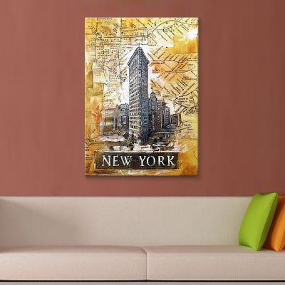 Newyork Kanvas Tablo