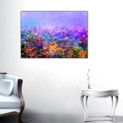 Rengahenk Çiçekler Tablosu