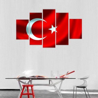 Türk Bayrağı Kanvas Tablo