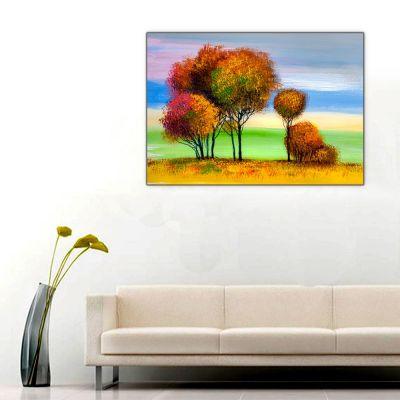Yağlı Boya Ağaçlar ve Doğa 3 Tablosu